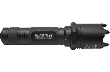 6-Dark Ops x8 Tactical Flashlight