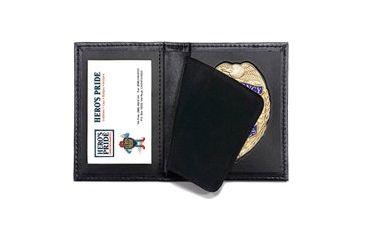 Heros Pride Bi-fold Badge Case w/ ID window - 3in 7-Pt Star Die Cut 2 9100-0002