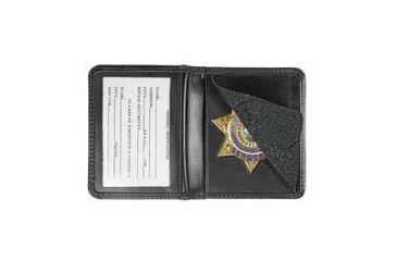 Heros Pride Deluxe Low Profile Badge Case w/ ID - Shield Badge Die Cut 1 9101-0001