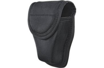 Heros Pride Handcuff Case - Double - Closed - Ballistic, Black 1055