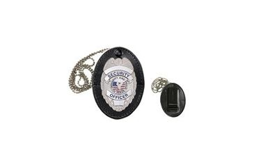 Heros Pride Universal Oval Badge Holder with Hook Fast Closure 9140S