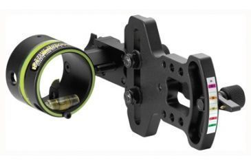 "1-HHA Sports 5000 Optimizer Lite Bow Sight 1 5/8"" Diameter .019"" Pin"