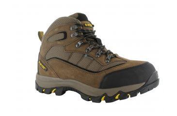 HI-TEC Men's Skamania WP Hiking Boots, Brown/Gold