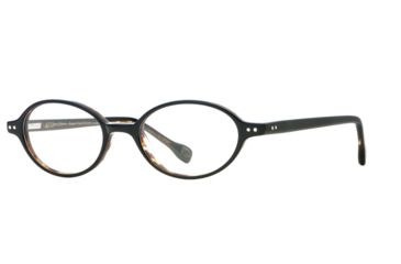 Hickey Freeman HF Boston SEHF BOST00 Single Vision Prescription Eyeglasses - Black Tortoise SEHF BOST004940 BK