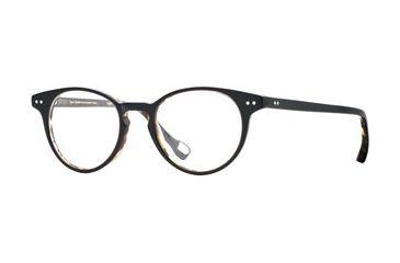 Hickey Freeman HF Cambridge SEHF CAMB00 Single Vision Prescription Eyeglasses - Black Tortoise SEHF CAMB004645 BK