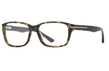 Hickey Freeman HF Fremont SEHF FREM00 Single Vision Prescription Eyeglasses - Olive SEHF FREM005335 GN