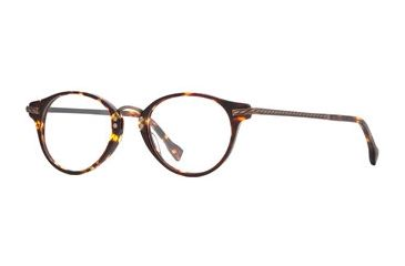 Hickey Freeman HF Newport SEHF NEWP00 Progressive Prescription Eyeglasses - Tortoise SEHF NEWP004645 TO