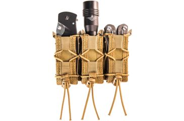 4-High Speed Gear HSGI Triple Pistol TACO Molle Mag Pouch