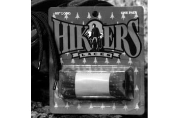 Hiker Round Laces 60 in., Black 758136