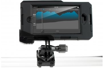 Hitcase TubulR Mount, Black, 6in x 8.27in x 1.25in HC24000