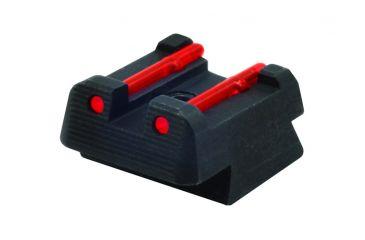Hiviz CZ2110-R, CZ 75, 85, P-01 Rear Sights, Red CZ2110-R