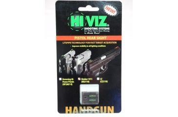Hiviz KB2110-G, Kimber Rear Sight, Green KB2110-G