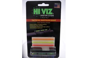 Hiviz MPB-TAC Tactical Version - Plain Barrel, Red/Green MPB-TAC