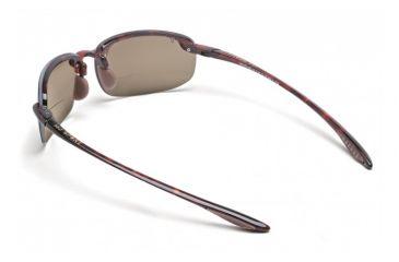 Maui Jim Ho'okipa Reader Sunglasses w/ Tortoise Frame and HCL Bronze 1.50 Magnification Lenses - H807-1015, Back View