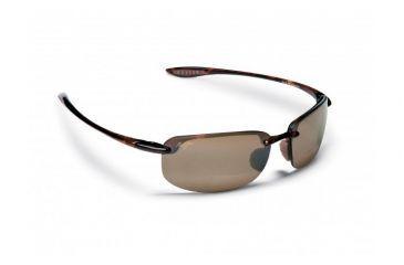 Maui Jim Ho'okipa Reader Sunglasses w/ Tortoise Frame and HCL Bronze 1.50 Magnification Lenses - H807-1015, Quarter View