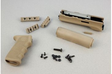 Hogue AK-47/AK-74 (Longer Yugo Version) Kit OM Grip and Forend Desert Tan 74318