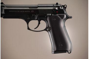 Hogue Beretta 92 Aluminum - Brushed Gloss Black Anodized 92166