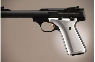 Hogue Browning Buckmark Aluminum - Brushed Gloss Clear Anodized 72165
