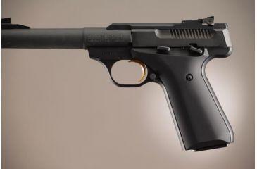 Hogue Browning Buckmark Aluminum - Matte Black Anodized 72160