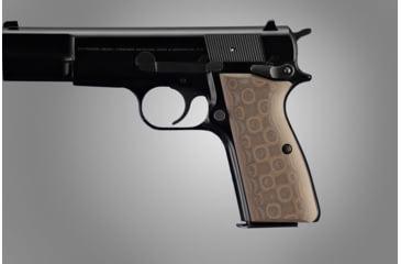 Hogue Browning Hi-Power G-10 - G-Mascus Tan 09167-TAN