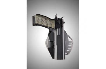 Hogue C19 CZ-75 Right Hand Holster Black