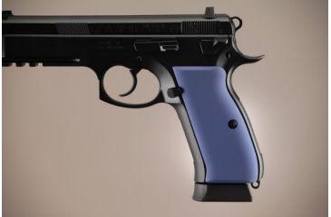 Hogue CZ-75 - CZ-85 Aluminum - Matte Blue Anodized 75163