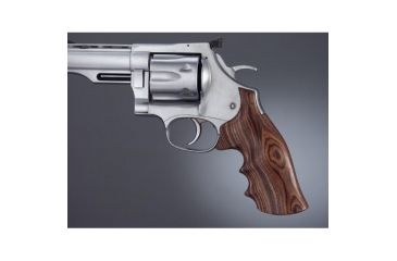 Hogue Dan Wesson LargeFrame Kingwood Big Butt, Checkered 58625