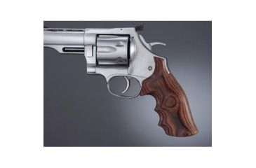 Hogue Dan Wesson Lg.Frame RoseLaminate No Finger Groove, Big Butt 58534