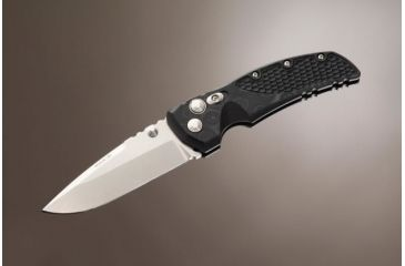 Hogue EX-01 3.5in Tactical Folder Drop Point Blade Tumble Finish G-10 Frame - G-Mascus Black 34179