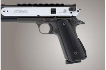 Hogue Govt G 10 Magrip Kit Smooth Arched Black 01269