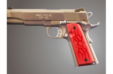 Hogue Govt Model 316 Thin Tribal Aluminum Red Anodized 01412