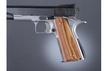 Hogue Govt. Model Tulipwood Ambidextrous Safety Cut 45720