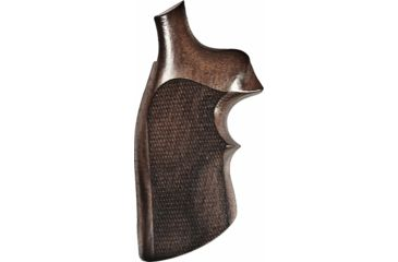Hogue K or L Sq. Butt Rosewood Top Finger Groove Checkered 10951