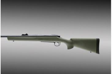 Hogue Remington 700 Bdl L A D M Heavy Barrel Pillarbed Stock Od Green 70231