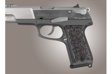 Hogue G-10 Grips for Ruger P85 - P91, Chain Link pattern | Free