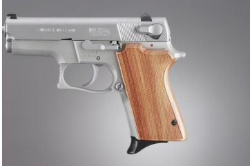 Hogue S&W 6906,Shorty 40, Tulipwood Checkered 69711