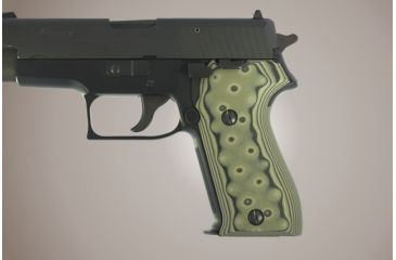 Hogue Sig Sauer P225 G 10 Od Green Camo 27168