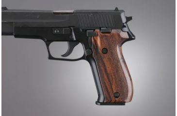 Hogue SIG Sauer P226 Coco Bolo Checkered 26811
