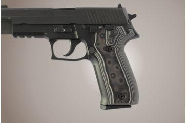 Hogue SIG Sauer P226 G-10 - G-Mascus Black/Gray 26167-BLKGRY
