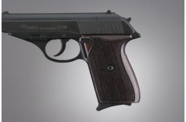 Hogue SIG Sauer P230 Rosewood Checkered 30911