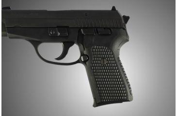 Hogue SIG Sauer P239 Piranha Grip G-10 - Solid Black 31139