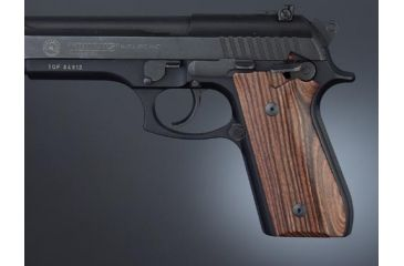 Hogue Taurus PT-99 PT-92 PT-100 PT-101 Handgun Grip Kingwood With