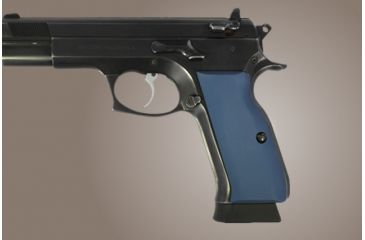 Hogue Tz 75 Eaa P9 Aluminum Matte Blue Anodized 75143