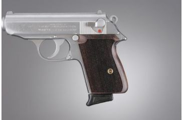 Hogue Walther PPK Rosewood Checkered 02911