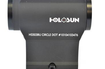9-Holosun HS503BU Micro Red Dot Sight