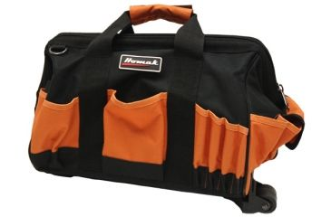 Homak 15in Rolling Tool Bag w/ 22 Pockets and Pull Handle TB04015022