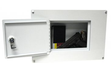 Homak Between Studs Wall Safe mounted