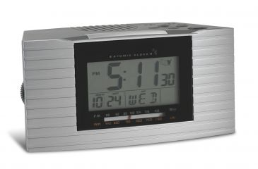 Honeywell Atomic Alarm Clock with AM/FM Radio and Indoor Temperature RC402W