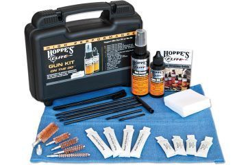 Hoppe's 9 Elite Gun Care On The Go,Cleaning Kit w/Case and Pillow Packs EGCOTG