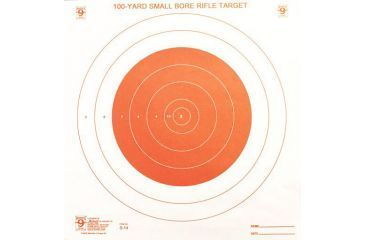 Hoppes'9 100 yard Small Bore Rifle Target